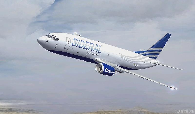 (Photoshop) Boeing 737 -300F | Sideral Air Cargo - SBBR - SBGL Dm88oy
