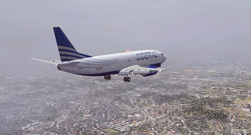 (Photoshop) Boeing 737 -300F | Sideral Air Cargo - SBBR - SBGL Fka884
