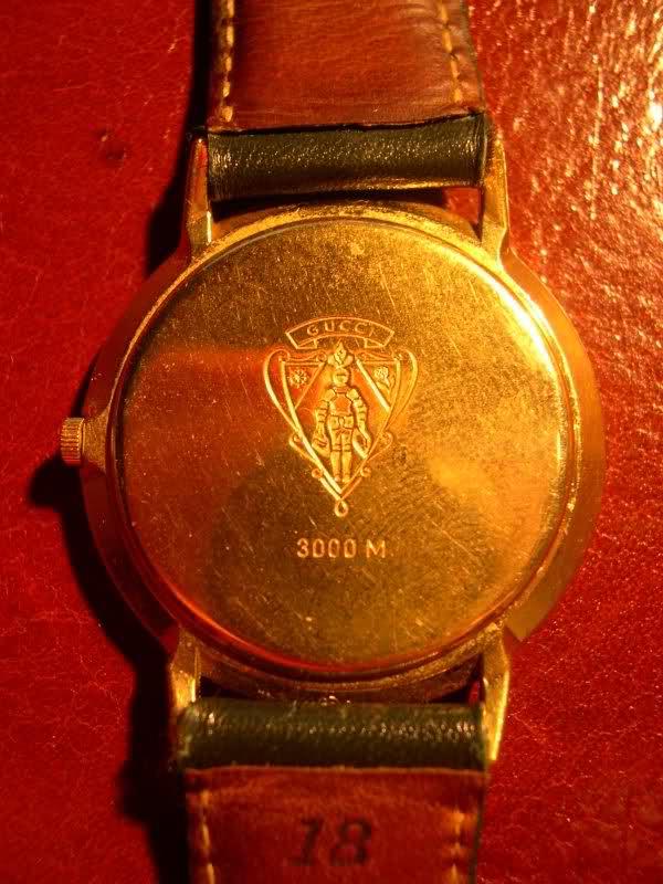 Gucci 3300M - Poinçon couronne I6f15g