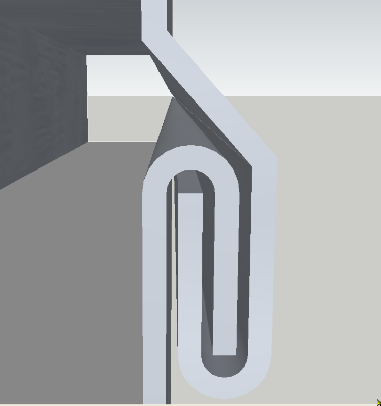 Pestañadora para chapa o láminas metálicas K3vbpz