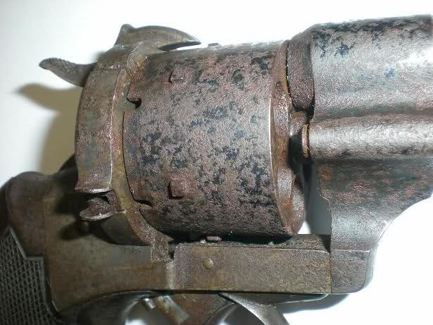 Restauration d'un petit revolver type Lefaucheux Kd0r36