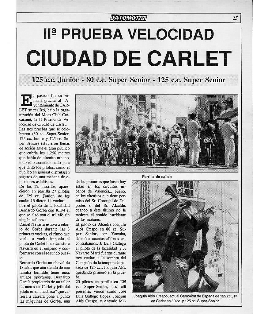 Antiguos pilotos: José Luis Gallego (V) Nl5vlx