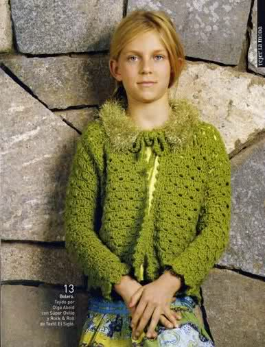 boleritos nenas - boleritos para nenas tejidos a crochet Sg21i8