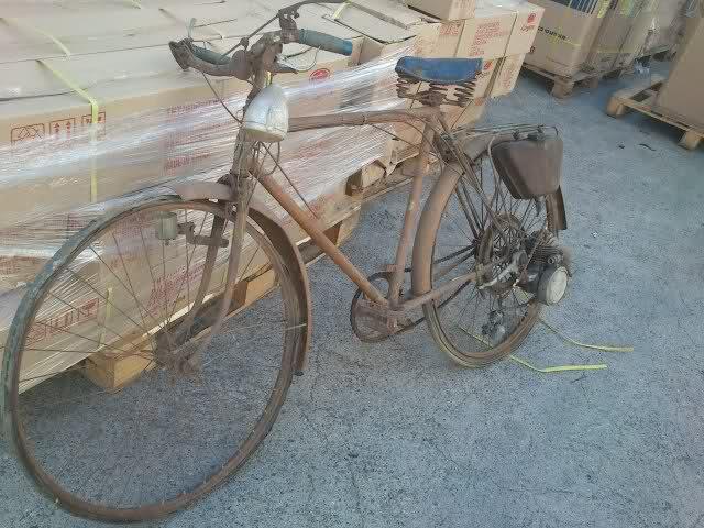 Bici con motor Uovm1
