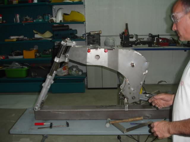 Monocasco MRD Ossa 50 cc. Vo6908