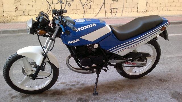 Honda nsr 80 naker Wb52l3