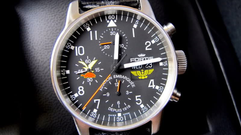 "Fortis limited edition Military Squadrons ""Aviation Embarquée"" 103sg1l"