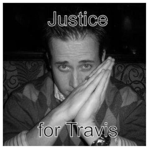 In Loving Memory of Travis Victor Alexander.  142ypt2