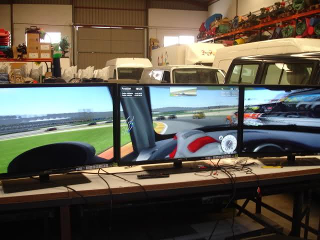 Simulador coches de carrera Made in Valencia 1ghq82