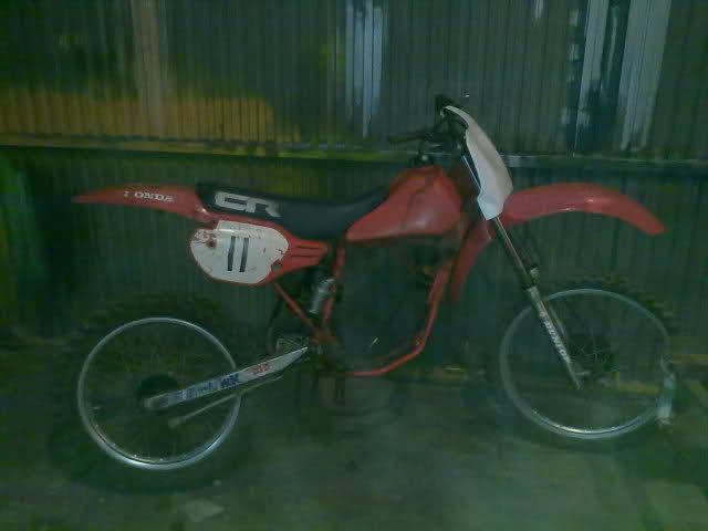 Honda CR80 RG 1986 20tqdxh