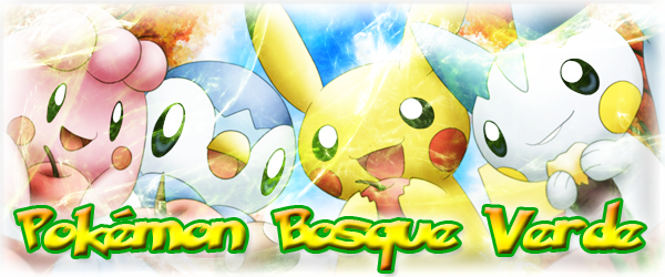 Pokemon Bosque Verde