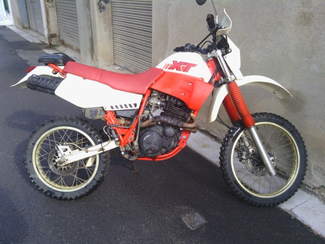 Yamaha XT 600 ¡regalada! 24cb9du