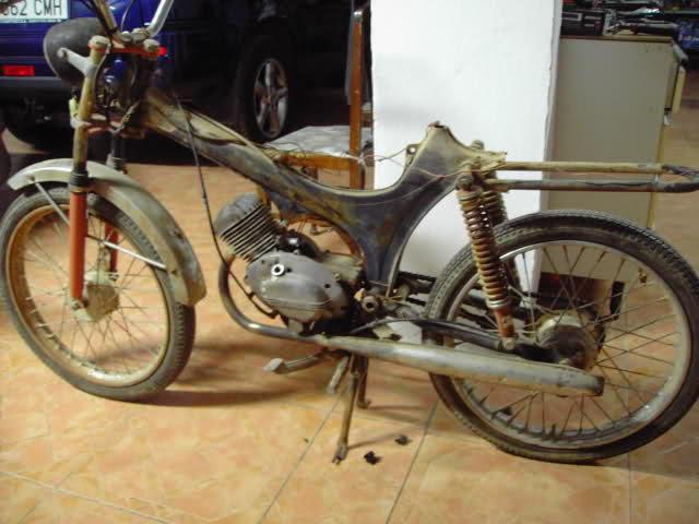 Restauración Moto Guzzi Hispania Serva 2cwphu1