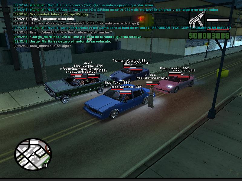 San Andreas Multiplayer (SAMP) 2e5i44w
