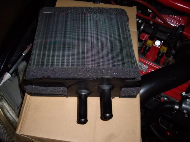 Changement radiateur chauffage GT sans clilm  2exnifq