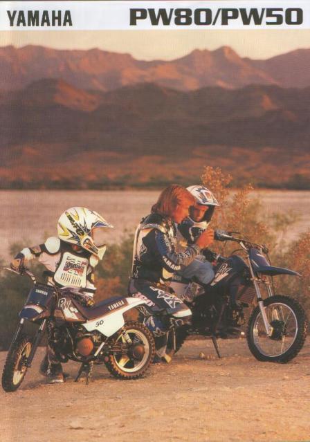 Yamaha PW 50 1993 by Motoret 2hd7hnd