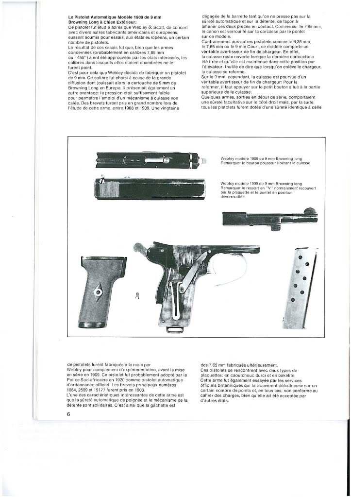 pistolets automatiques webley & scott 2mmso3p
