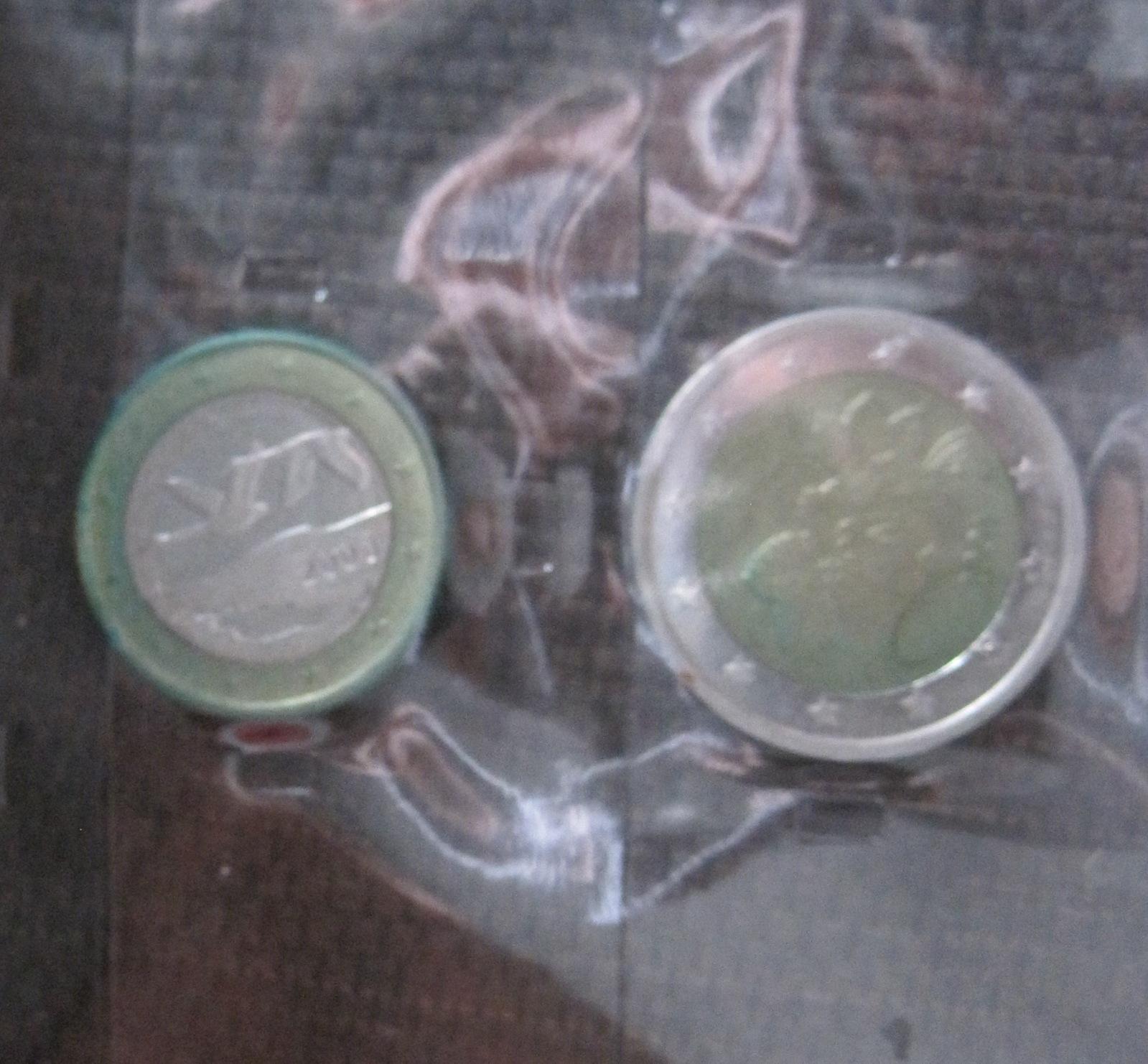 Como limpiar Euros y Céntimos de Euro 2mz80l
