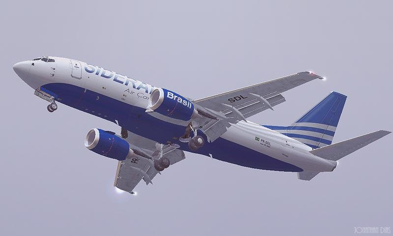 (Photoshop) Boeing 737 -300F | Sideral Air Cargo - SBBR - SBGL 2nq5sm9