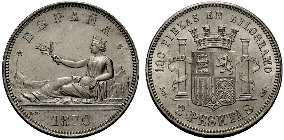 Estudio monográfico: Las monedas en el reinado de Amadeo I (1871-1873) 2ytpcvt