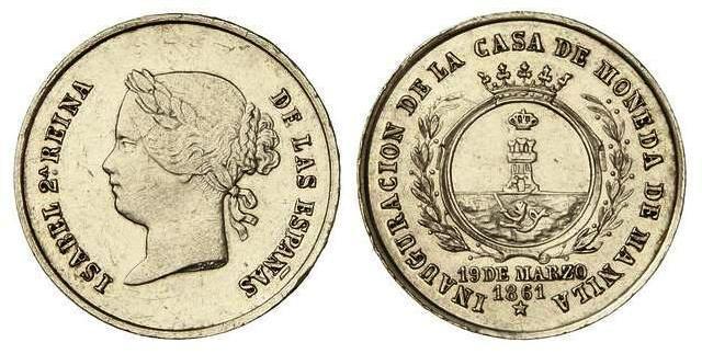 Estudio monográfico: La Casa de la Moneda de Manila. De Isabel II a Alfonso XIII. 2z720xc