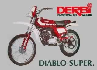 Información sobre Derbi Diablo 302lz6s