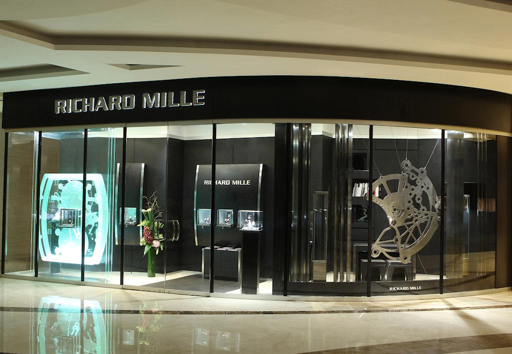 Ouverture de la seconde boutique Richard Mille de Hong Kong. 30xk789