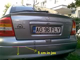 Tutorial montaj senzori parcare 33042le