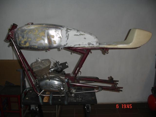 Preparación Derbi Sport Coppa 334tdhj