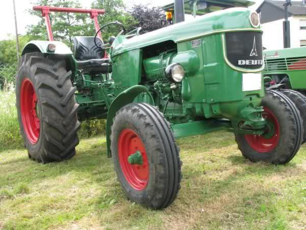 Tipos de escudo khd Klöckner humboldt deutz-tipo D 4006-s tractor remolcador