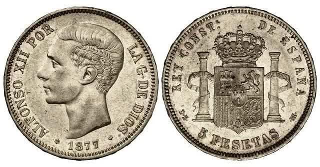 Estudio monográfico: Las monedas de Alfonso XII (1875-1885) 359cxa8