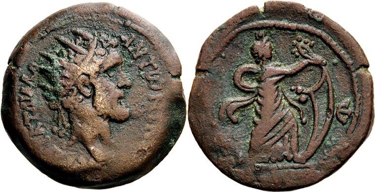 La moneda provincial romana. La ceca de Alexandría 35i9b9s