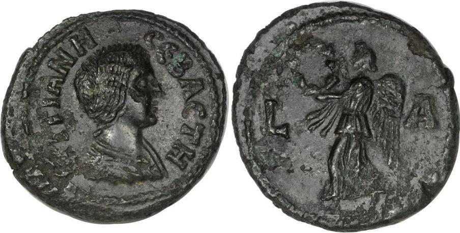 La moneda provincial romana. La ceca de Alexandría 3beix