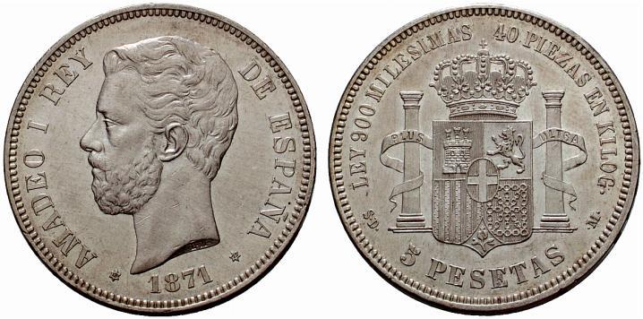 Estudio monográfico: Las monedas en el reinado de Amadeo I (1871-1873) 4kwbwx