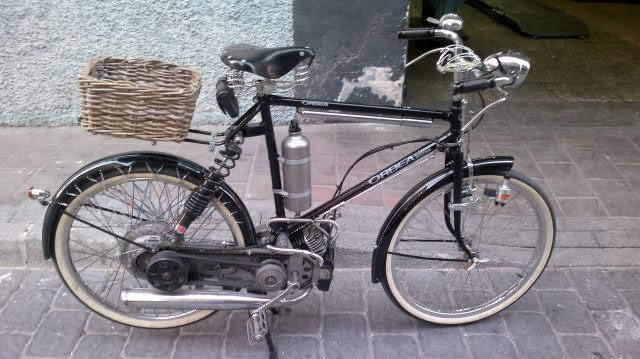 Bici con motor 6gvp15