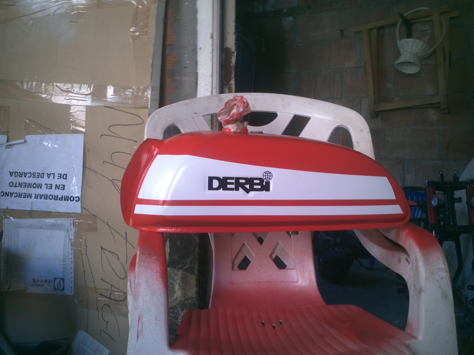 Derbi GT4V '76 - Restauración 6sfnmt