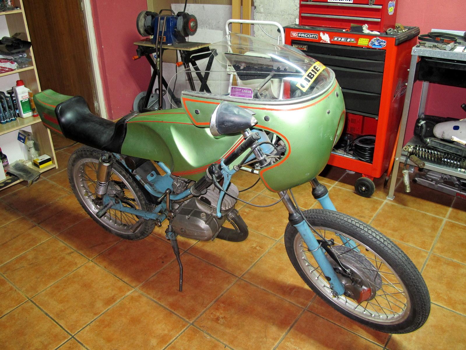Preparaciones y modificaciones Antorcha, GT.. 6y31ag