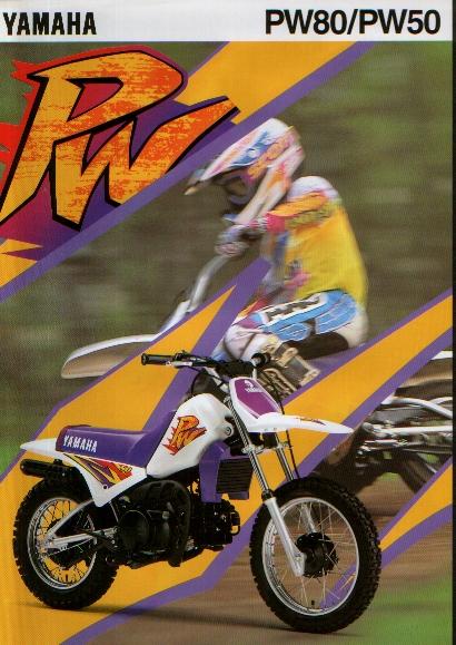 Yamaha PW 50 1993 by Motoret 717hjc