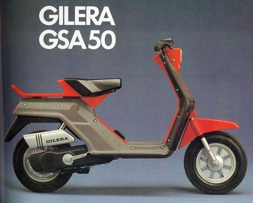 Gilera 50 GSA - El quinto Vespino 8vnmyv