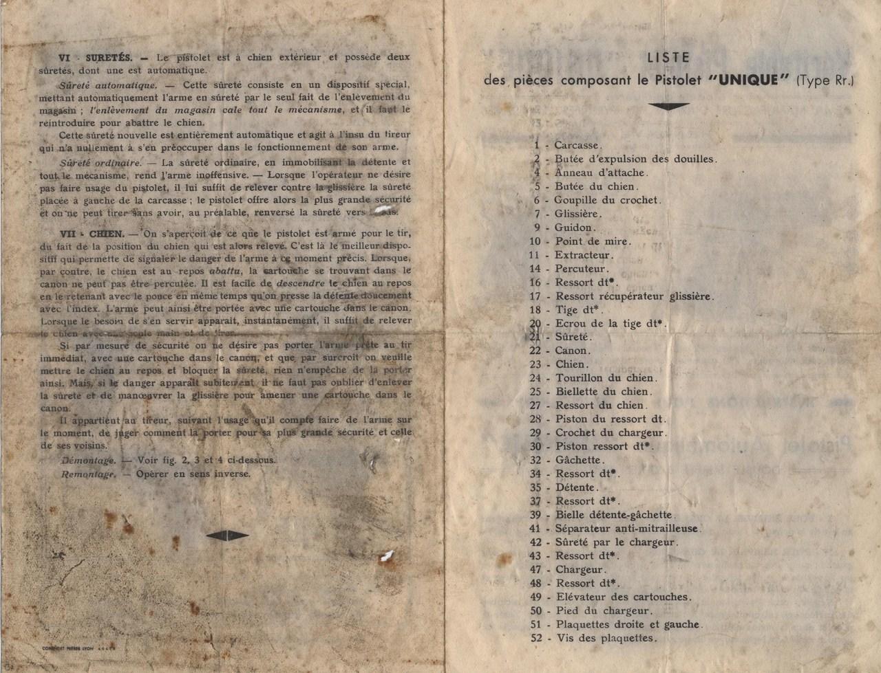 Catalogue UNIQUE, 1930s A59v03