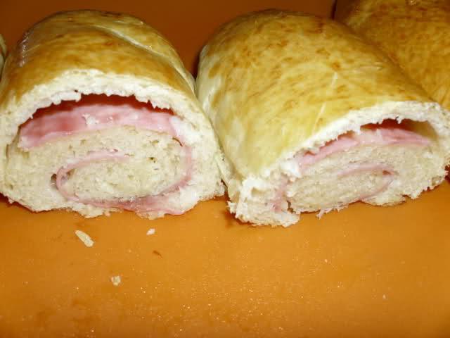 Pan carioca con queso y jamon C7oly
