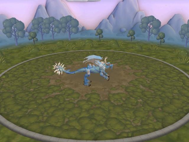 2 dragones que son: frost dragon y dragon rojo E9j8ys