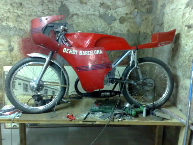 Preparaciones y modificaciones Antorcha, GT.. Ei05yd