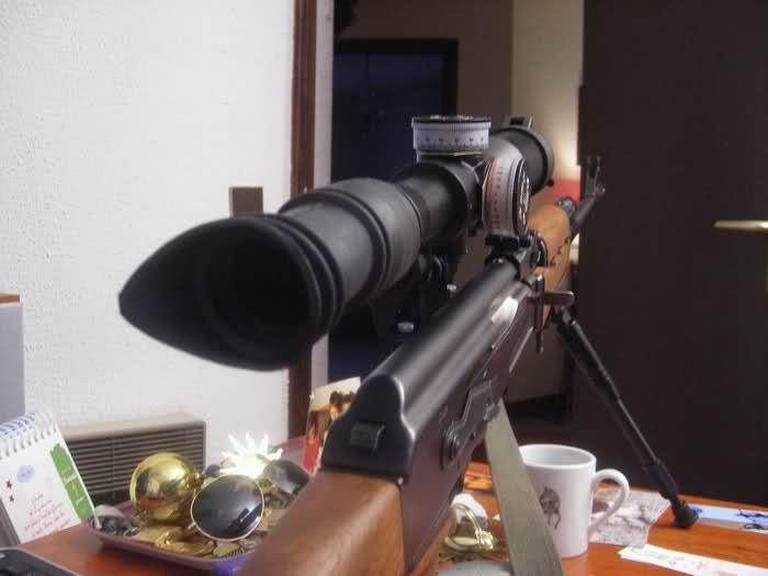 Optique PSOP 8x42 Fvwg1x