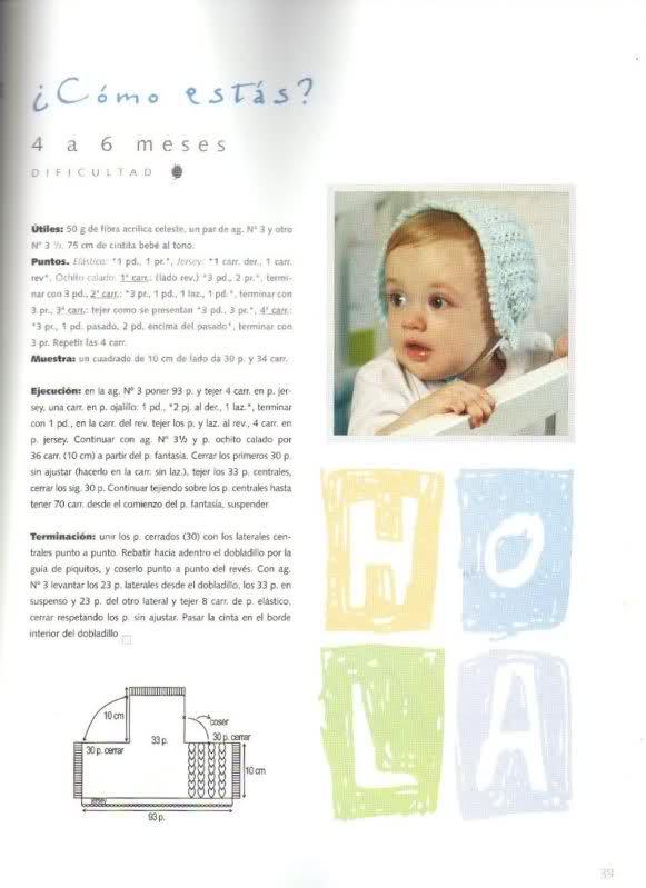 capota - Patrón capota bebe I4myl1