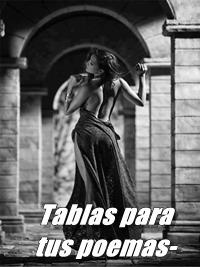 TABLAS PARA TUS POEMAS
