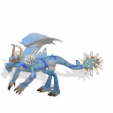 2 dragones que son: frost dragon y dragon rojo Jt70bl