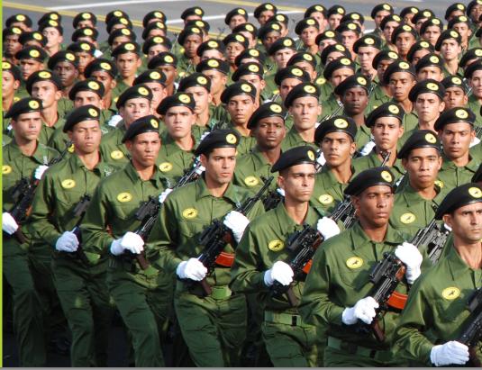 Fuerzas Armadas Revolucionarias de Cuba.  Kd93rk