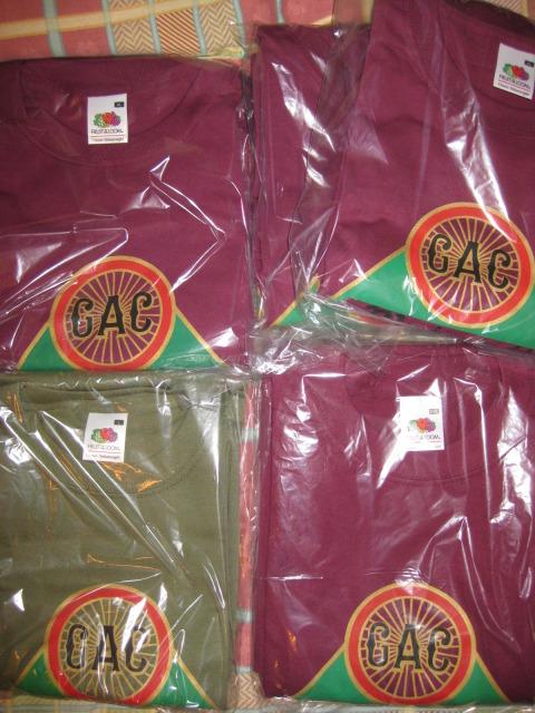 Camisetas logo G.A.C. Mobylette 2019 Nb3qtj