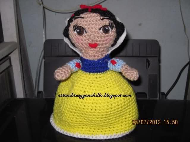 amigurumi Blanca Nieves R2kuh0